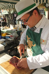 Market butcher
